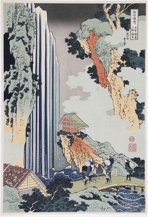 Bu görsel boş bir alt niteliğe sahip; dosya adı 512px-Katsushika_Hokusai_1760-1849_Ono_waterval_aan_de_Kisokaido_1835.jpg